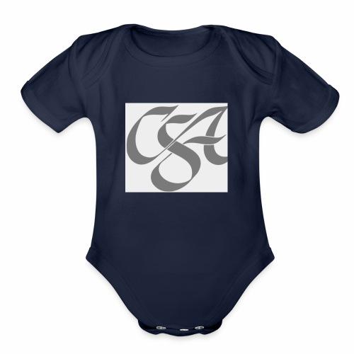 Csa - Organic Short Sleeve Baby Bodysuit