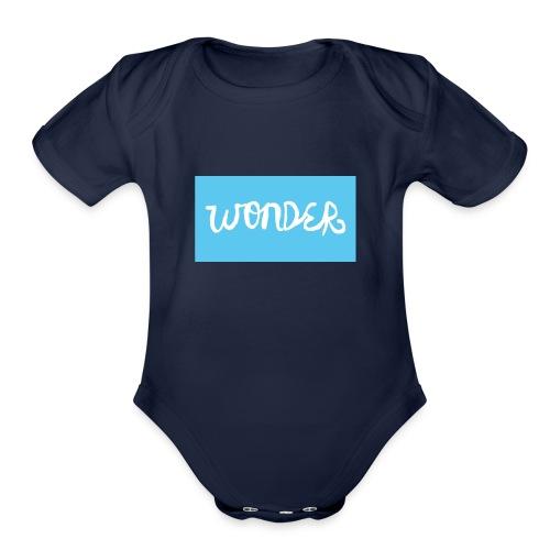 THE WONDER MOVEMENT - Organic Short Sleeve Baby Bodysuit