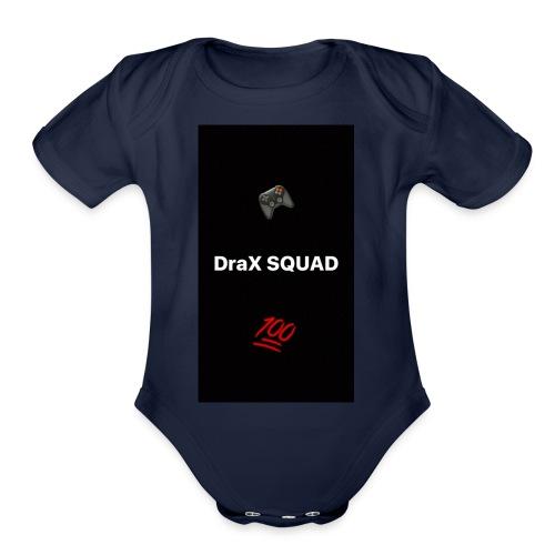 DraX Squad Game ED - Organic Short Sleeve Baby Bodysuit