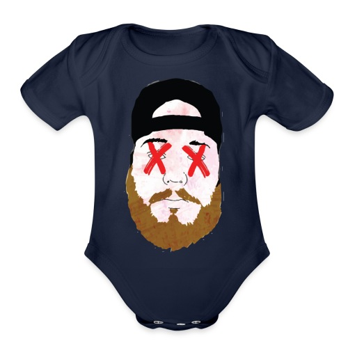 Double X - Organic Short Sleeve Baby Bodysuit