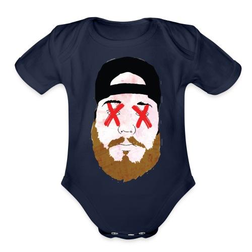 Double X - Organic Short Sleeve Baby Bodysuit