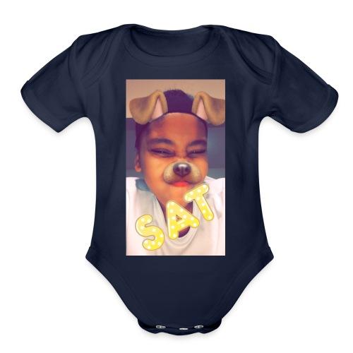 FRESH🤤 - Organic Short Sleeve Baby Bodysuit