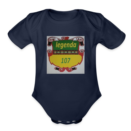Legenda107 - Organic Short Sleeve Baby Bodysuit