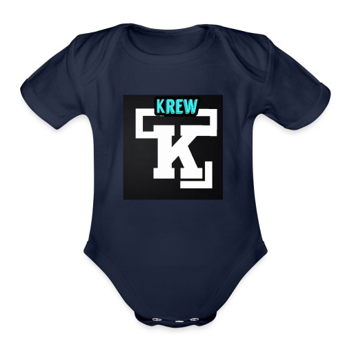 Krew T-Shirt - Organic Short Sleeve Baby Bodysuit