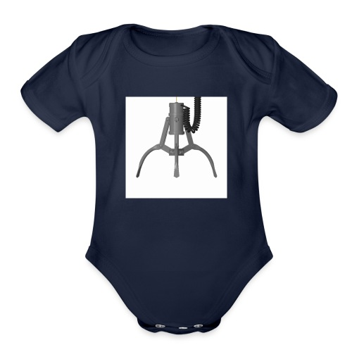 THE CLAW!!!!!!!!!!!!!!!!!!!!!!! - Organic Short Sleeve Baby Bodysuit