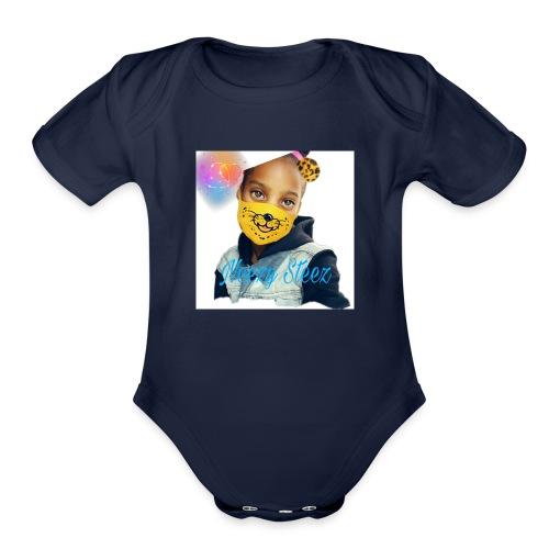 Neezy swag - Organic Short Sleeve Baby Bodysuit
