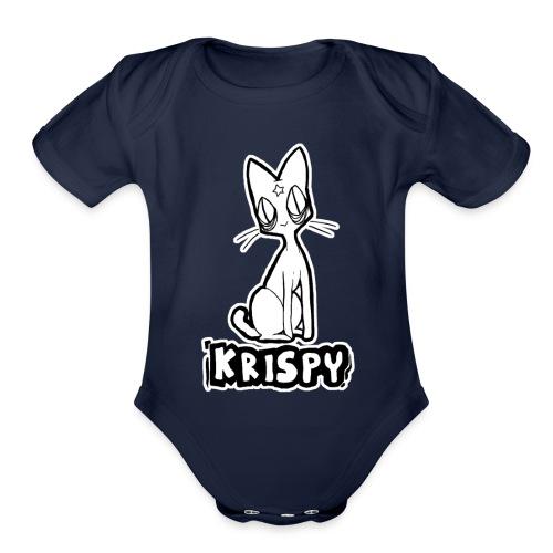 KRISPY - Organic Short Sleeve Baby Bodysuit