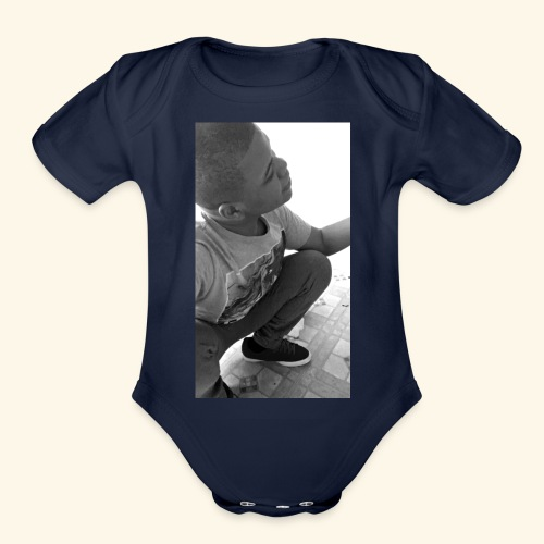 Chsjrmh Collection - Organic Short Sleeve Baby Bodysuit