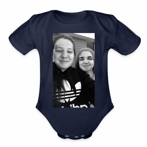 IMG 0430 - Organic Short Sleeve Baby Bodysuit