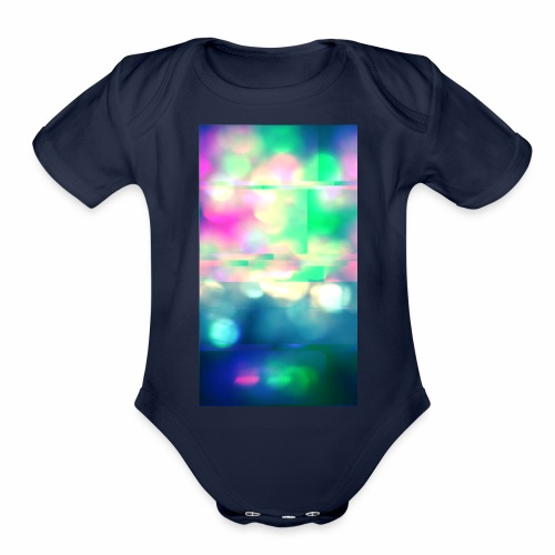 Glitchy Photography - Organic Short Sleeve Baby Bodysuit