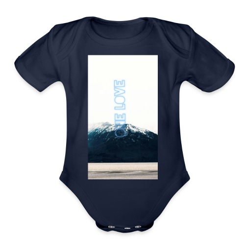 stiiago - Organic Short Sleeve Baby Bodysuit