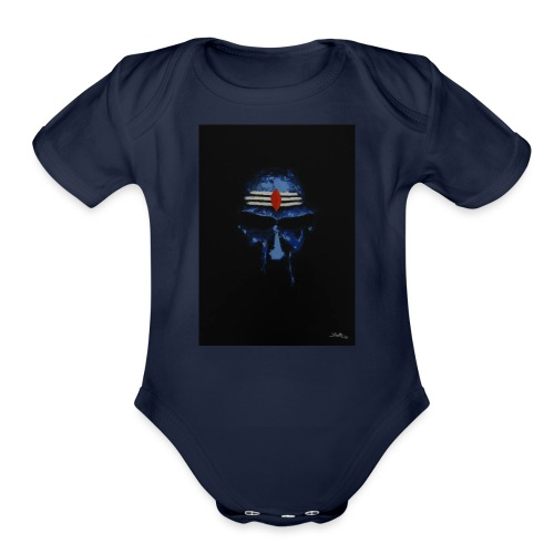 shiva - Organic Short Sleeve Baby Bodysuit