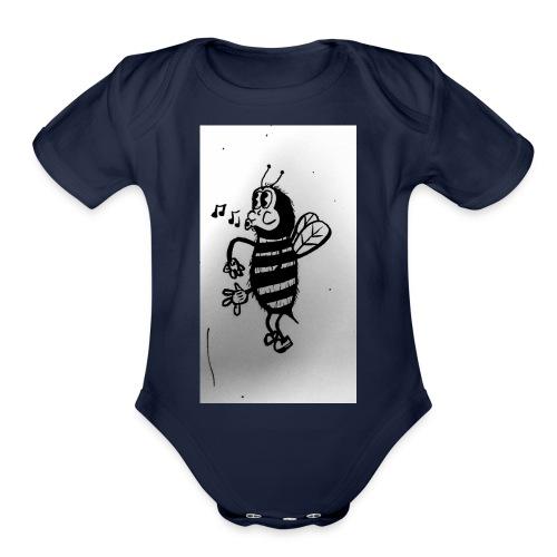 Stinger - Organic Short Sleeve Baby Bodysuit