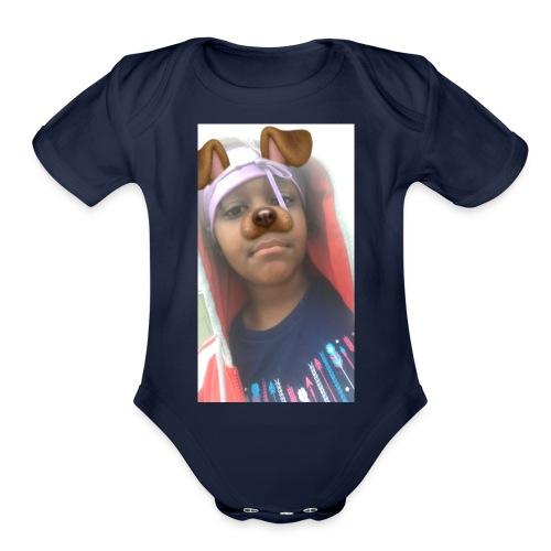 Anniyahthegreatest.com - Organic Short Sleeve Baby Bodysuit
