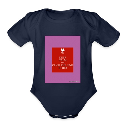 NoahThe Kid's merchandise - Organic Short Sleeve Baby Bodysuit