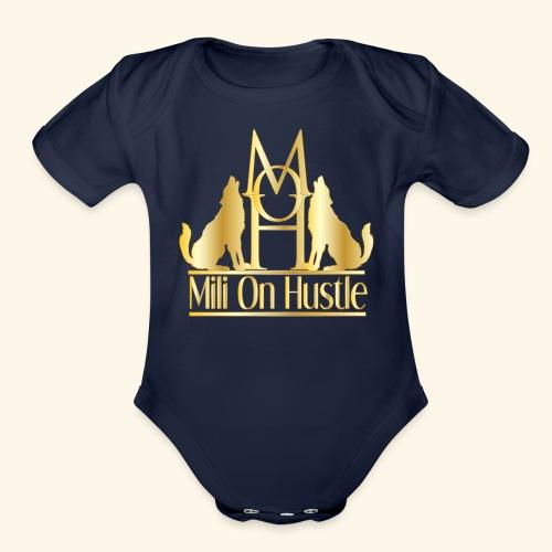 New Mili On Hustle - Organic Short Sleeve Baby Bodysuit