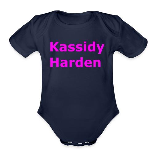 Kassidy Harden - Organic Short Sleeve Baby Bodysuit
