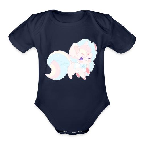 dokicorn - Organic Short Sleeve Baby Bodysuit