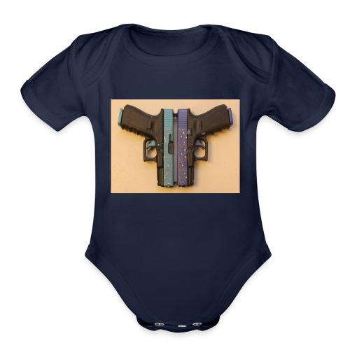 hotest merch - Organic Short Sleeve Baby Bodysuit