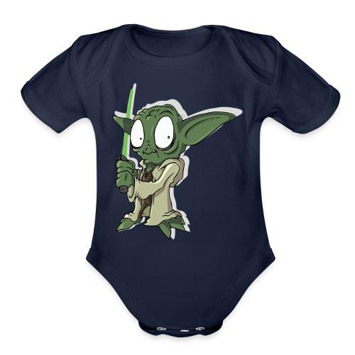 Funny force - Organic Short Sleeve Baby Bodysuit