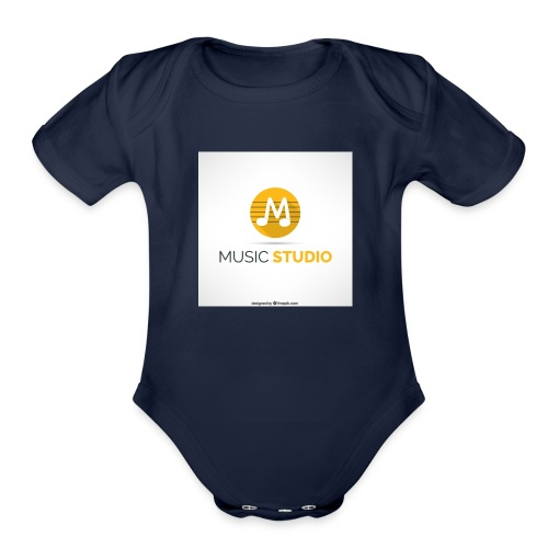 prosductos music studios - Organic Short Sleeve Baby Bodysuit