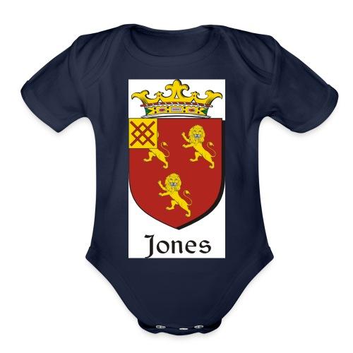 Jones Irish Crest - Organic Short Sleeve Baby Bodysuit