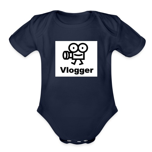 IMG 1316 - Organic Short Sleeve Baby Bodysuit