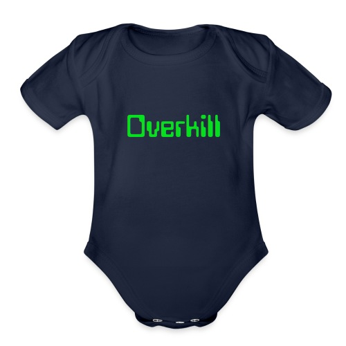 Overkill Line 4 - Organic Short Sleeve Baby Bodysuit