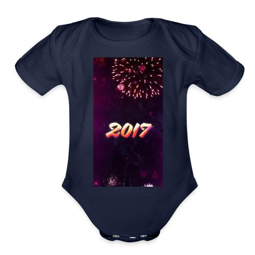 a74f411814526a614fa3555dfb22301d5ed9b8509a191ebaac - Organic Short Sleeve Baby Bodysuit