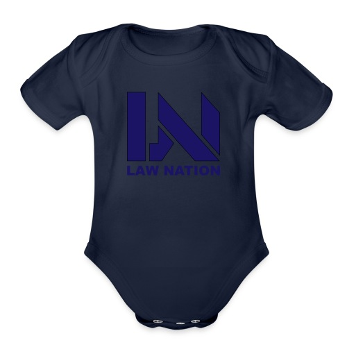 Law Nation - Organic Short Sleeve Baby Bodysuit