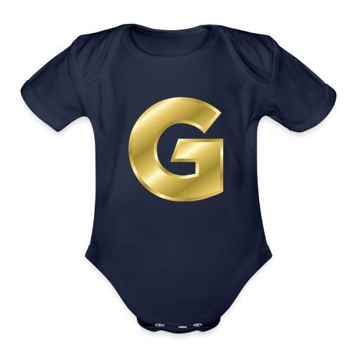 Golden G - Organic Short Sleeve Baby Bodysuit