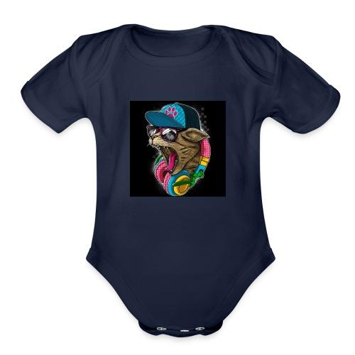 Kids Clothes - Organic Short Sleeve Baby Bodysuit