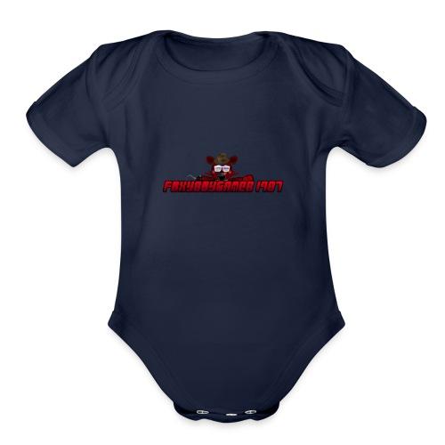 FBG1987 - Organic Short Sleeve Baby Bodysuit