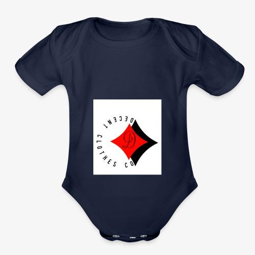 DecentClothesCo - Organic Short Sleeve Baby Bodysuit
