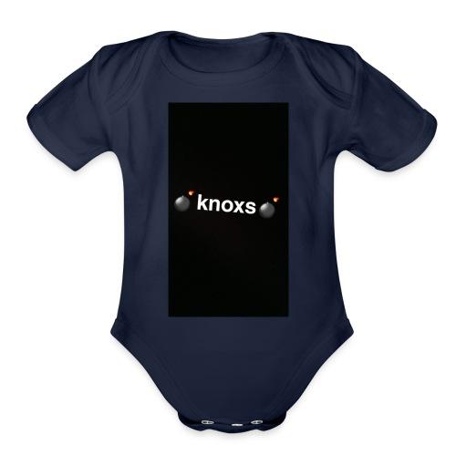 knox - Organic Short Sleeve Baby Bodysuit