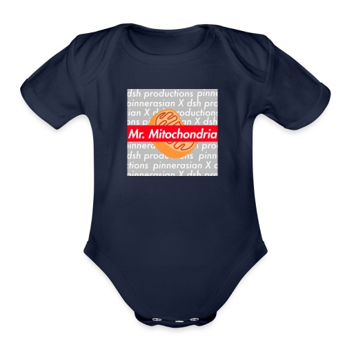 SCRAP DSH - Organic Short Sleeve Baby Bodysuit