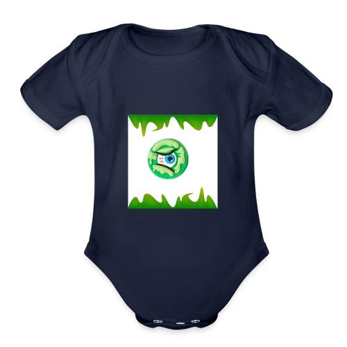 #Odd Slime T-shirt - Organic Short Sleeve Baby Bodysuit