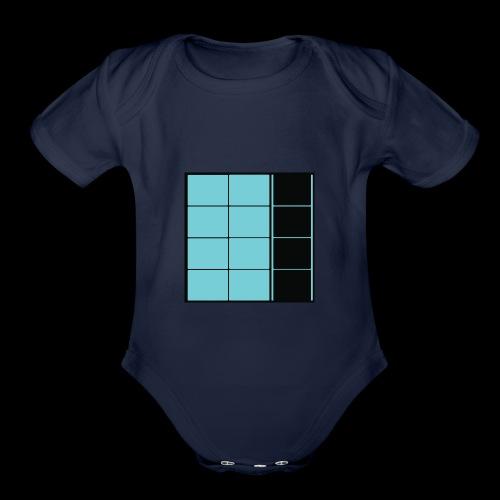 coffeeBRAINS #1 - Organic Short Sleeve Baby Bodysuit