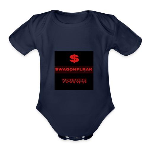 sagonfleak123 - Organic Short Sleeve Baby Bodysuit