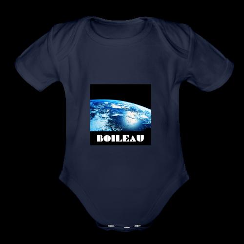 13 - Organic Short Sleeve Baby Bodysuit