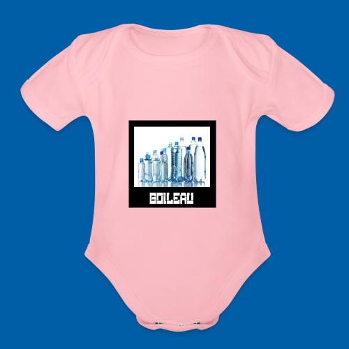 ddf9 - Organic Short Sleeve Baby Bodysuit