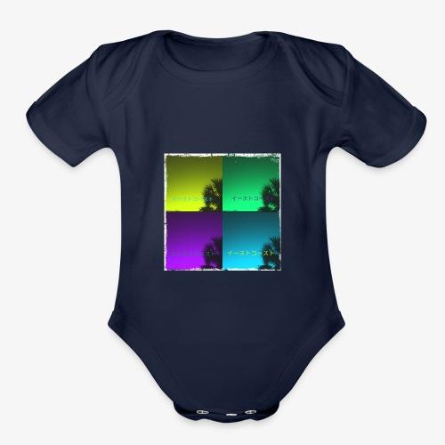 EastCoastAesthetic - Organic Short Sleeve Baby Bodysuit