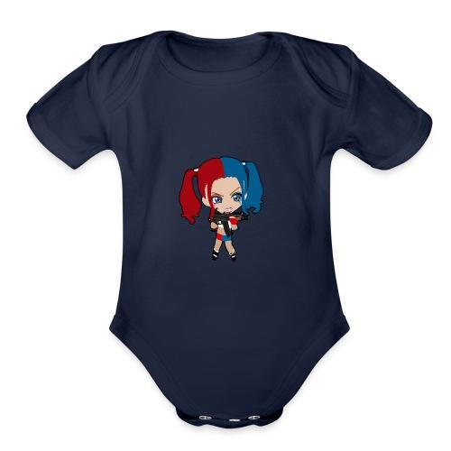 Marley Quinn - Organic Short Sleeve Baby Bodysuit