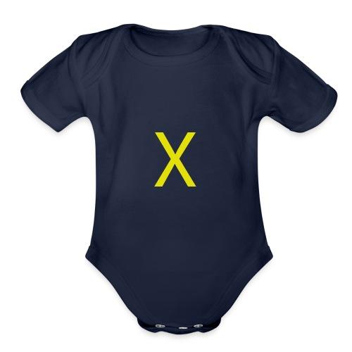 THE X CLAN - Organic Short Sleeve Baby Bodysuit