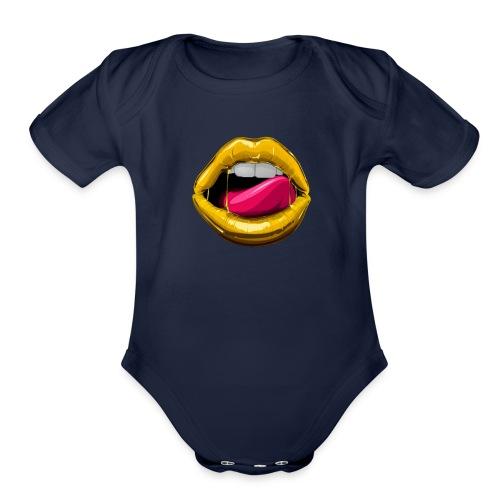 GOOD LIPZ - Organic Short Sleeve Baby Bodysuit