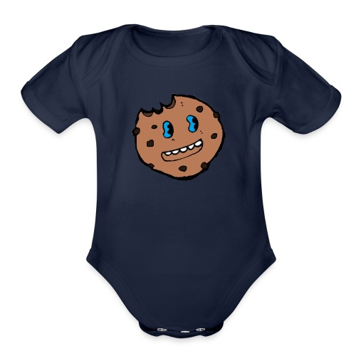 Cute Cookie - Organic Short Sleeve Baby Bodysuit