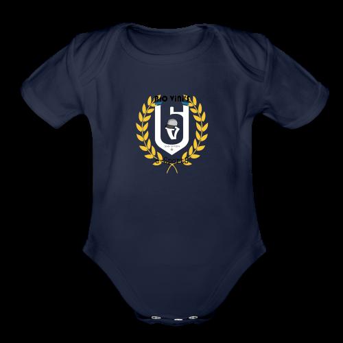 BroViniS E-SportS - Organic Short Sleeve Baby Bodysuit