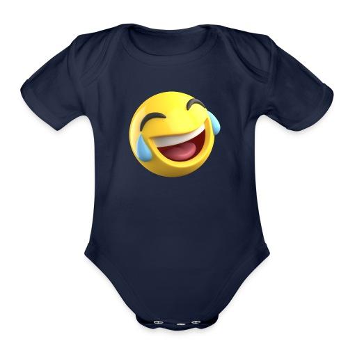 Jokespedia - Organic Short Sleeve Baby Bodysuit