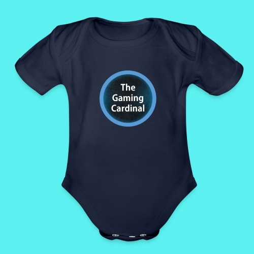 solo logo no back ground - Organic Short Sleeve Baby Bodysuit