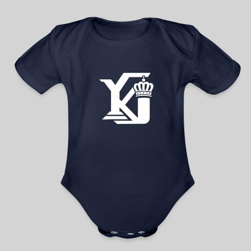 Evolve Sports Young King 17 - Organic Short Sleeve Baby Bodysuit